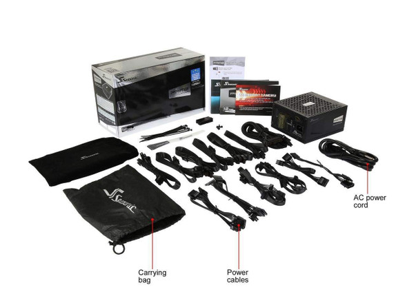 Gaming Power Supply Seasonic PRIME ULTRA PLATINUM 1000 W   850 W   750 W   650 W   550 W