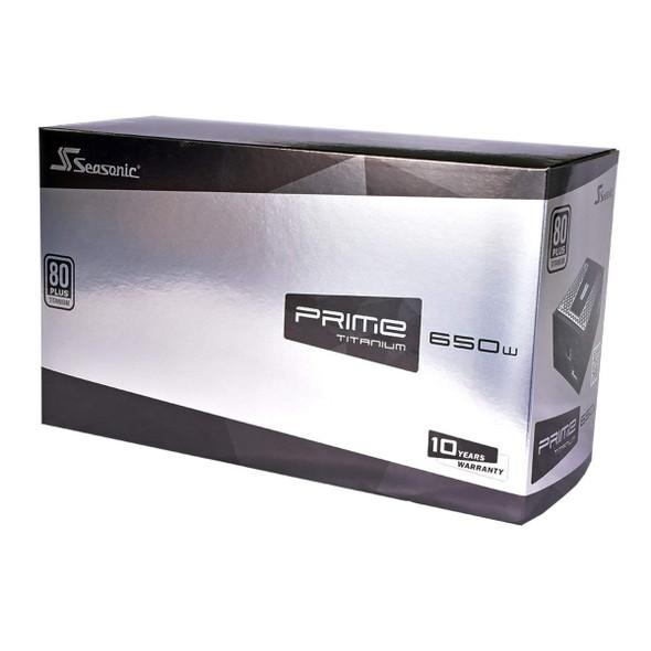 Gaming Power Supply Seasonic PRIME TITANIUM 1000 W   850 W   750 W   650 W  