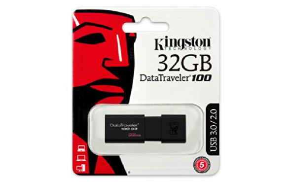 Kingston USB 32GB USB 3.0 DataTraveler (DT100G3/32GB)