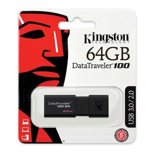 Kingston USB 64GB USB 3.0 DataTraveler (DT100G3/64GB )