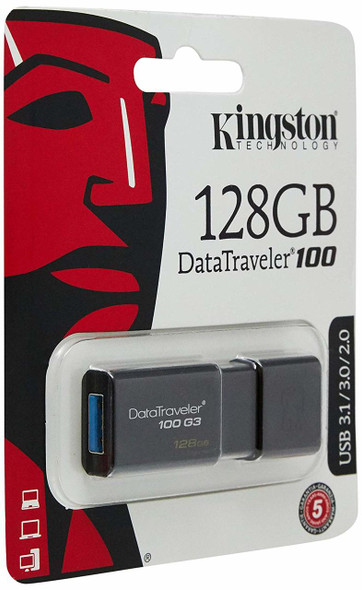 Kingston USB 128GB USB 3.0 DataTraveler (DT100G3/128GB)