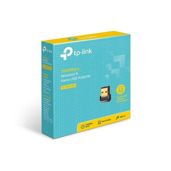 TPLINK 150Mbps Wireless N Nano USB Adapter TL-WN725N