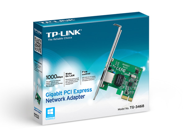 TPLINK Gigabit PCI Express Network Adapter TG-3468