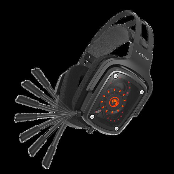 MARVO Headset HG9046 BACKLIT, SURROUND ADVANCED GAMING HEADSET