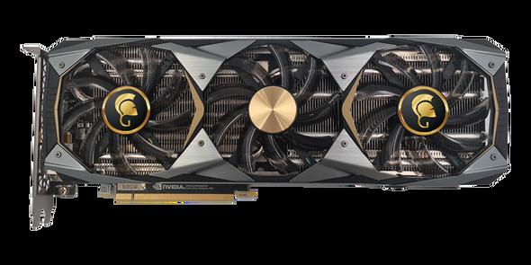 VGA Manli GeForce RTX???? 2080 Ti 11GB GDDR6 Gallardo with RGB Lights