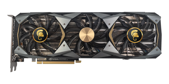 VGA Manli GeForce RTX???? 2080 Ti 11GB GDDR6 Gallardo with RGB Lights