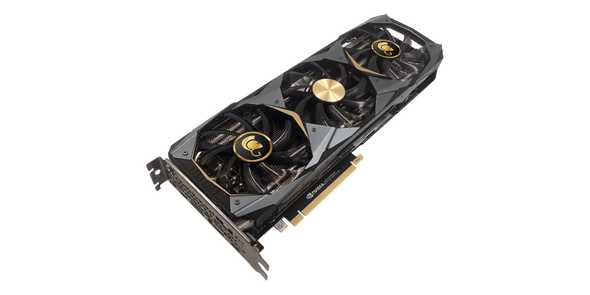 VGA Manli GeForce RTX 2080 Ti 11GB GDDR6 Gallardo with RGB Lights