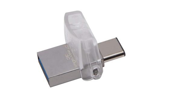 Kingston Digital 64GB Data Traveler Micro Duo USB 3C Flash Drive (DTDUO3C/64GB)