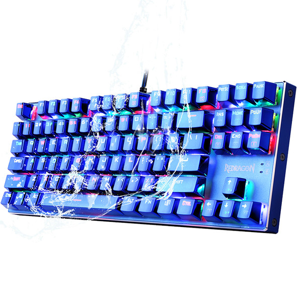 Redragon Wired Blue K566 Gaming Computer Mechanical RGB Keyboard