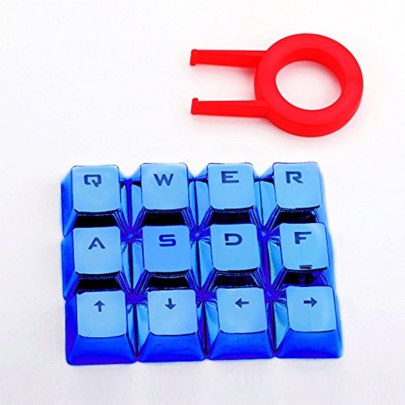 Redragon A103B 2 Chrome Keycaps with Keypuller-Blue