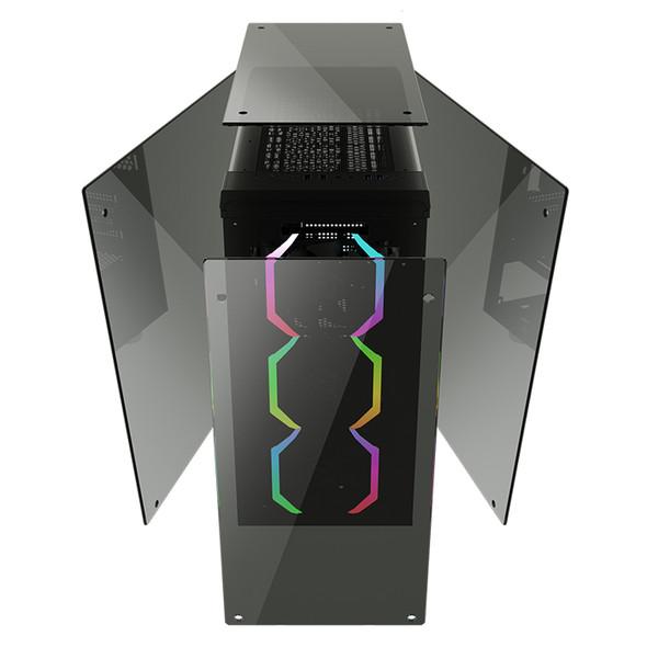 Case ABKO-N-CORE TENGRI 350 Tempered Glass Professional Gaming Series
