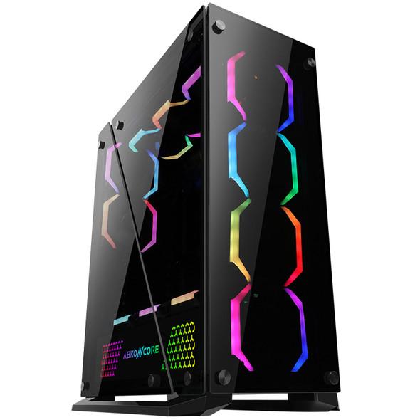 Case ABKO-N-CORE TENGRI 650 Tempered Glass Professional Gaming Series