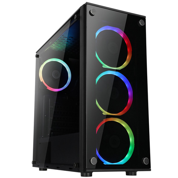 Case ABKO-N-CORE Andromeda Tempered Glass Professional Gaming Series