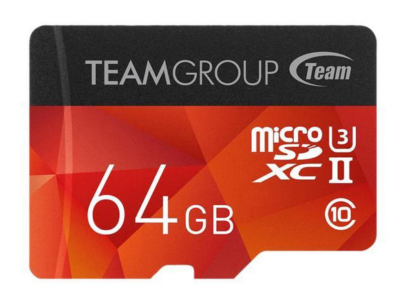 TEAM GROUP MicroSD XTREEM Micro SDXC UHS-II U3 64GB MicroSD CARD  for professional photographer
