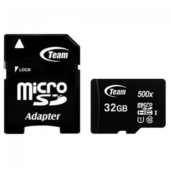 TEAM GROUP Micro SDHC/SDXC UHS-I CARD 128GB, 64GB, 32GB, 16GB