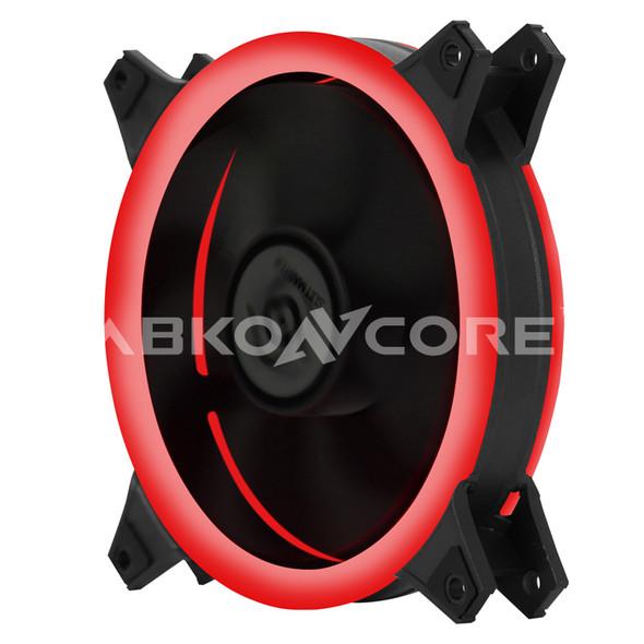 ABKONCORE FAN For Gaming Case 3in1 KIT DOUBLE RING LED Fans, RED, GREEN, BLUEABKONCORE FAN For Gaming Case 3in1 KIT DOUBLE RING LED Fans, RED, GREEN, BLUE