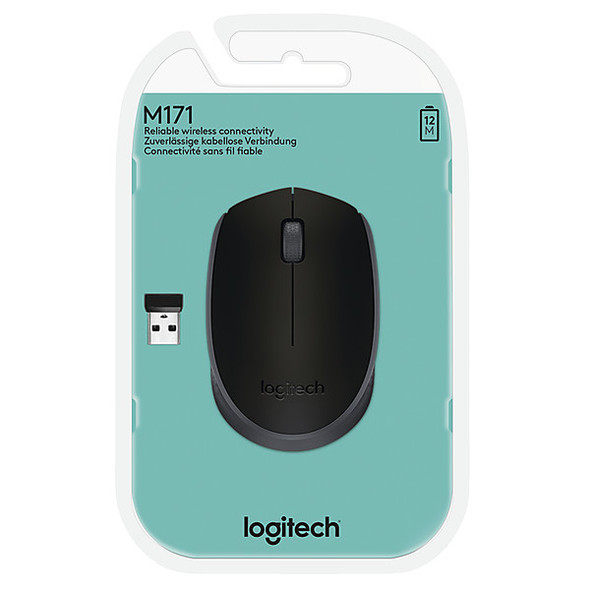 Logitech M171 Wireless Black Mouse