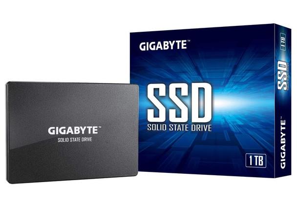 """Gigabyte SSD 1TB NAND Flash SATA III 2.5"""" Internal Solid State Drive GP-GSTFS31100TNTD"""