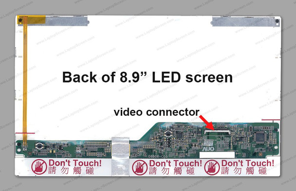 """B089AW01 8.9"""" Replacement LCD screen FOR LAPTOP"""