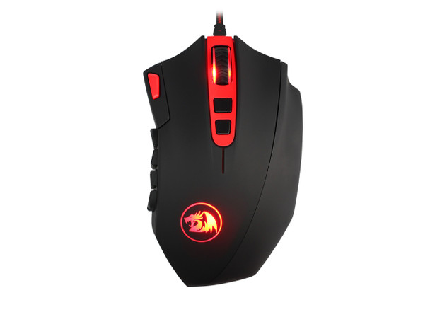 Redragon M901 Perdition 16400DPI MMO Mouse LED RGB Wired Gaming Mouse