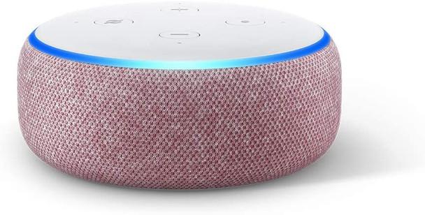 Echo Dot (3rd Gen) - Smart speaker with Alexa - PLUM (840080563794)