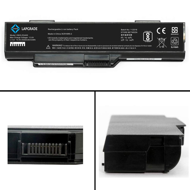 Replacement Battery Compatible with LENOVO Laptops | 3000 G400 G410 Series (AC1LBL08)