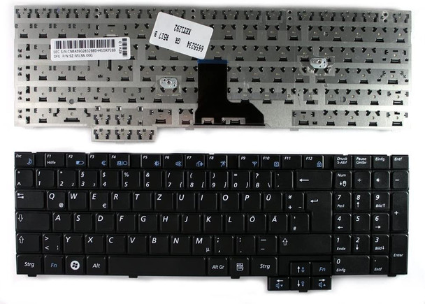 Compatible Replacement Keyboard for Samsung Laptop NP R517, R523, R525, R528, R530, R540, R538, R618, R620, R719