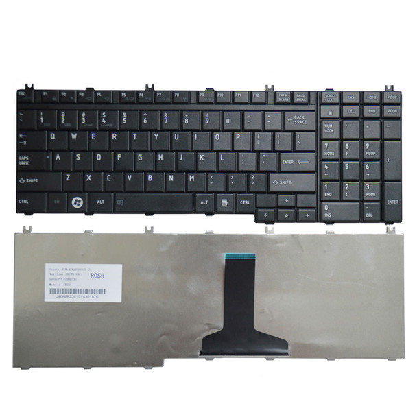 Compatible Replacement Keyboard for Toshiba P300 P200 A500 A505 L500 L505 keyboard P300 P200 A500 A505 L500 L505 laptop
