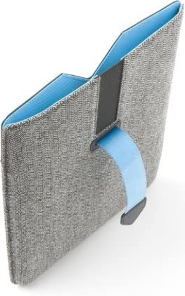 Dicota PadCover (Grey/Blue) Ultimate protective sleeve for the iPad | N26438P