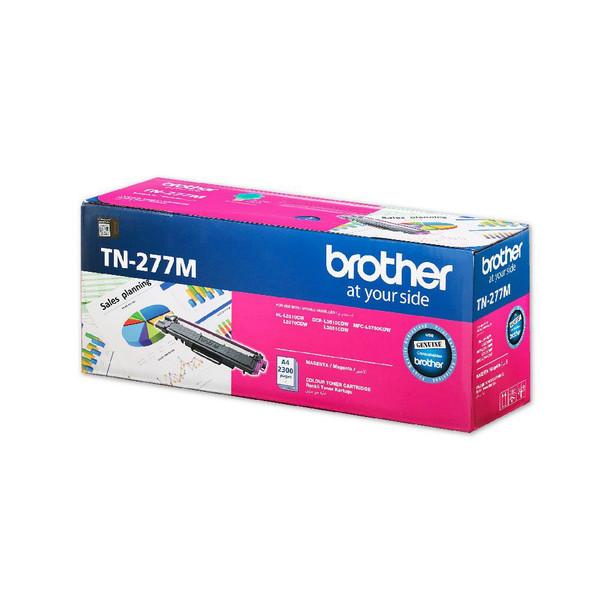 Brother 2,300 pages Magenta toner (DCP-L3510DW,DCP-L3551DW, MFC-L3750CDW) | TN-277M