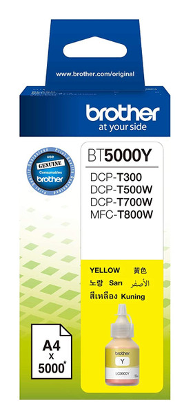 5,000 pages Ink bottle Yellow (Ink Tank)   BT-5000Y