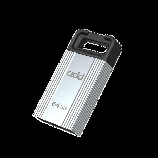 Addlink U30 64GB USB Flash Drive (2.0) - Silver | ad64GBU30S2