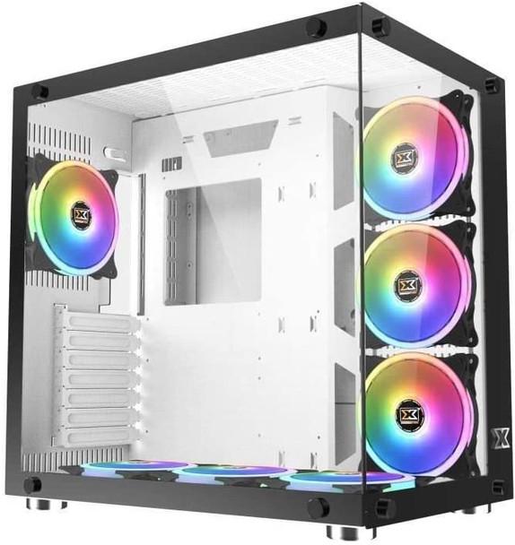 Xigmatek Boitier PC ATX Xigmatek Aquarius Plus White   EN43675