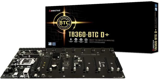 Biostar Motherboard   TB360BTC D+