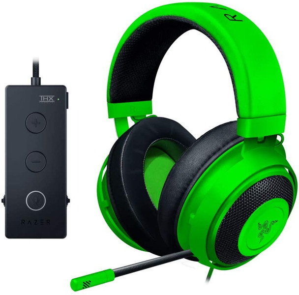 Razer Kraken Tournament Edition Green 3D Acoustic Gaming Headset | RZ04-02051100