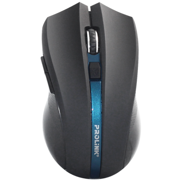 PROLINK WIRELESS NANO OPTICAL MOUSE 2.4GHZ 1600DPI/6 BUTTONS   PMW6005