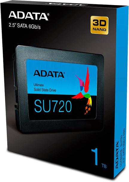 ADATA SU720 1TB  SATA 6Gb/s SSD Sequential Read (Max*) Up to 520MB/s  Sequential Write (Max*) Up to 450MB/s | ASU720SS1T