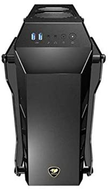Cougar Conquer Essence Open-design enclosure with aluminum body and tempered glass covers   CONQUER ESSENCE