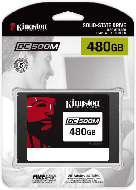 "KINGSTON DC500M ( Mixed use ) 2.5"" ENTERPRISE  SATA 480GB SSD   SEDC500M/480G"