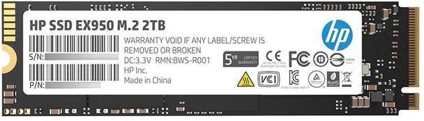 PCIe Gen 3 x 4 SSD EX950 - DRAM cache  2TB   5MS24