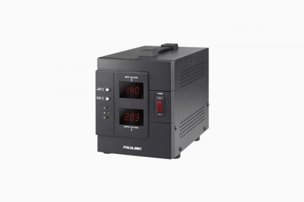 PROLINK 1KVA AUTO VOLTAGE REGULATOR W/LCD   PVR1000D