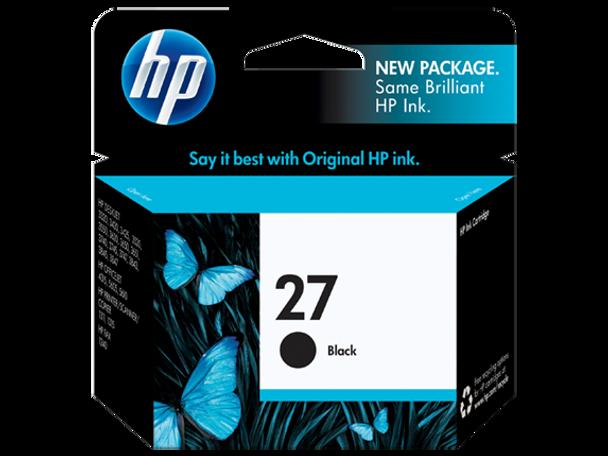 HP 27 Black Original Ink Cartridge (C8727AE)