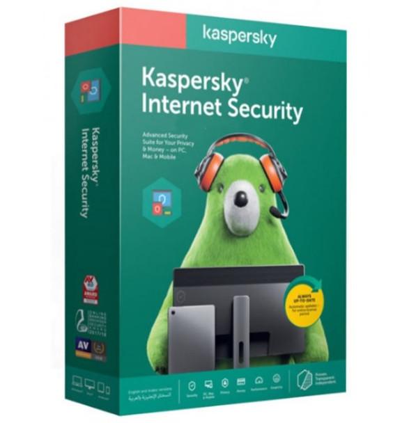 KASPERSKY Internet Security 4 Users   KL1939IBDFS-20
