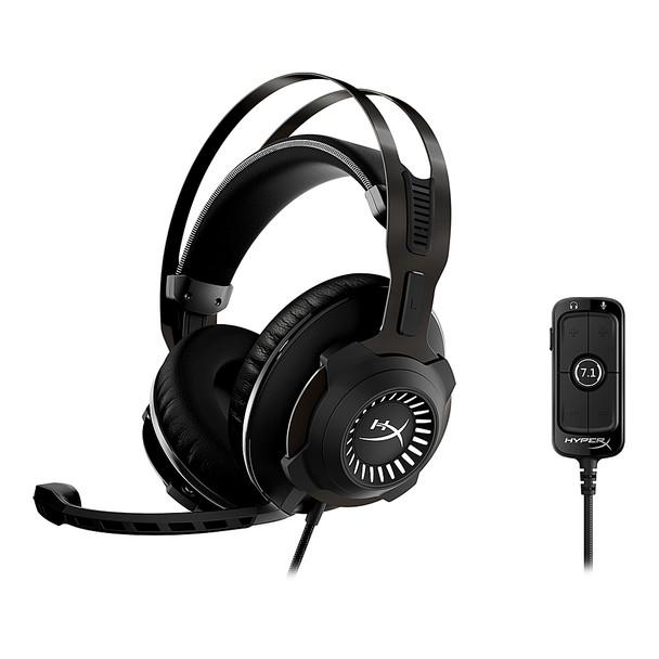 HyperX Cloud Revolver 7.1  - Gaming Headset (Gunmetal) - PC | HHSR1-AH-GM/G
