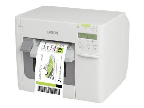 Epson ColorWorks C3500 (012CD) (incl. NiceLabel CD) Label Printer   C31CD54012CD
