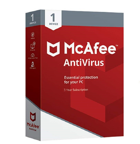 McAfee Antivirus Plus for 1 user