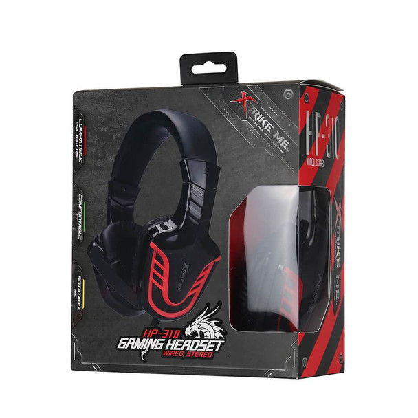 XTRIKE Wired Gaming Headset   HP-310