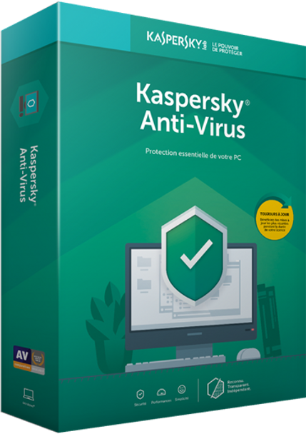 KASPERSKY Anti-Virus 1 User   KL1171F5AFS-20