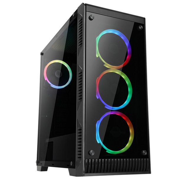 Case ABKO-N-CORE CASSIOPEIA Tempered Glass Professional Gaming Series