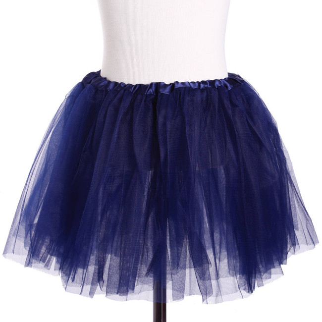 Navy Blue Child's Ballet Tutu 3 Layered Soft Tulle